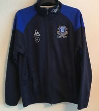 Everton training track top jacket size L dark blue colour Le Coq Sportif