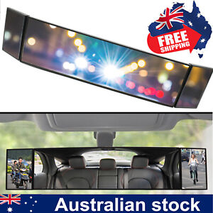 390 Car Large Vision Rear View Mirror Wide Angle Blindspot baby watch Universal