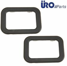 For BMW 318I 318IS 325 E30 Pair Set of 2 Inside Black Interior Door Handle Trim