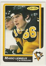 1986-87 O-Pee-Chee #122 Mario Lemieux 2nd-year Pittsburgh Penguins NM