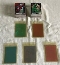 1990, 1991, 1992, HOLOGRAMS AND MARVEL MASTERPIECE CARD LOT MARVEL UNIVERSE!!!