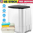 26LBS Compact Portable Washing Machine Twin Tubs Laundry Washer and Dryer 2 IN 1 photo