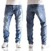JACK & JONES Mike Original comfort fit Herren Jeans Hose AM 437 blau neu