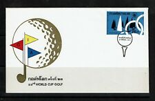 Thailand Sc# 753 - First Day Cover (Fdc) W/ Original Detail Card Inside - 092717