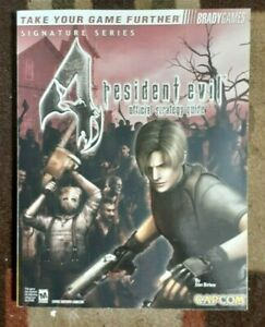 Resident Evil 4 Bradygames Official Strategy Game Guide + Double-Sided Poster