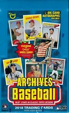 2018 TOPPS ARCHIVES BASEBALL CARDS, PICK ANY 10 TO COMPLETE YOUR SET