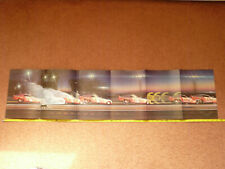Vintage Don Prudhomme Army Funny Car Panoramic Run Poster 11x48 Super Rare