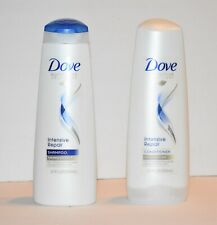 DOVE Intensive Repair(1)Shampoo + (1)Conditioner for Damaged Hair 12 oz