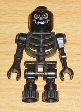 schwarzer Zylinder Hut gen027  4391 LEGO Figur Skelett weiß