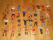 Vintage 80s LJN WWF Wrestling Figure Lot 32 Hulk Hogan Macho Man Andre the Giant