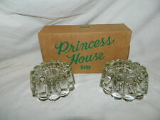 NEW Princess House Candle stick candlestick holders box #0486 reversible pillar