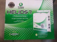 Titan Controls Helios 7 - 8 Light 240v Light Controller w/ Timer hydroponic volt