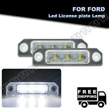 LED License Number Plate Light Lamp For Ford Flex 2009-2017 Focus 2008-2011 MKS