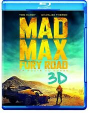 Mad Max Fury Road Blu-ray 3D/Blu-ray *NEW* 2015 Tom Hardy Charlize Theron Action