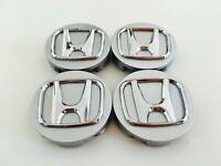 "NEW 4Pcs silver Wheel Rim Center Cap 2.75"" For Honda Civic Accord CRV OEM 69MM"