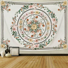 US Ship Art Floral Tapestry Flower Wall Hanging Tapestry Bedspread Home Decor