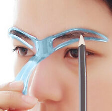 2x Modello Stencil per Sopracciglia Shaping make up kit per la Cura Sopracciglia