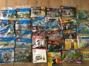 LEGO Polybag Sets - Batman, City, Potter, Star Wars, Marvel... You Pick - New!