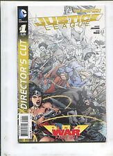 New 52: Justice League Trinity War Director'S Cut #1 (9.2)!