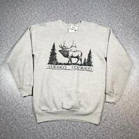 90s Vintage DURANGO COLORADO Mens Jumper Small | Sweatshirt USA Hanes