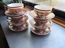 ANCIEN SERVICE A THE CAFE EN PORCELAINE FINE JAPONAISE  *GEISHA*