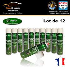 GT PART'S LOT 12 BOMBES Nettoyant Actif Dégraissant Freins 600ml Ultra Puissant