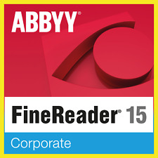 ABBYY FineReader Corporate 15✔️Lifetime Licence Key✔️multilingual✔Fast Delivery✔
