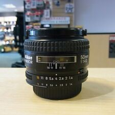 Used Nikon AF Nikkor 50mm f1.4 D lens - 1 YEAR GTEE