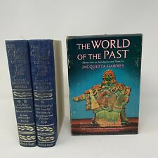 vintage  THE WORLD OF THE PAST, Jacquetta Hawkes, 1963, 2 vol. set History
