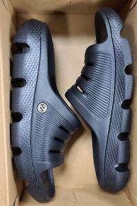 Sz 10 or 11 Sandals Cole Haan 4.Zerogrand All Day Slides Black Foam Slip On Mens