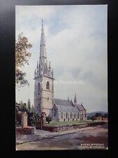 Denbighshire BODELWYDDAN (MARBLE) CHURCH c1935 by Valentine A1776