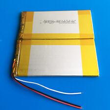"7.4V 3000mAh Li po Battery for Power bank 7"" 9"" PDA PAD Laptop Nootbook 38116110"