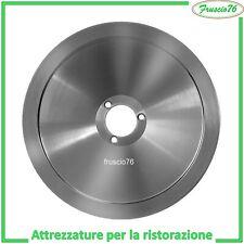 LAMA ACCIAIO per AFFETTATRICE STANDAR mm195 19,5 cm RICAMBI ACCIAIO DI RICAMBIO