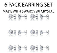 Clear Cubic Zirconia State of Oklahoma White Gold Dipped Stud Post Earrings