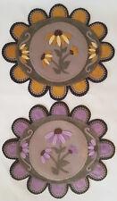 Through The Garden Gate*~coneflower/sunflower Penny Rug/Table Mat~*PATTERN*~