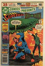 DC Comics Presents 26 1st Cyborg New Teen Titans Superman Green Lantern 1980s