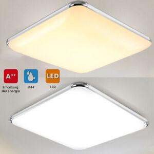 PRO LED Deckenleuchte Deckenlampe Badleuchte IP44 Wohn-Schlafzimmer Leuchte Flur