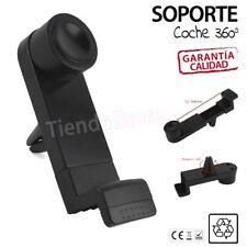 Soporte universal rejilla ventilacion coche giratorio movil iPhone 7 /5/ 6 /PLUS