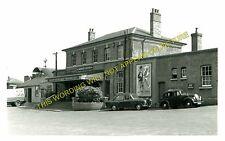Farnham Railway Station Photo. Tongham - Bentley. Guildford to Alton Line. (3)
