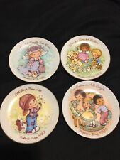 Vintage Avon Mothers Day Plates Collectors Lot 6 1981,1982,1983,1984,1988 & 1989