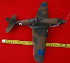 plastic plane model 1/18 scale P-40B TOMAHAWK