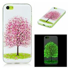 Tree Blossom TPU Gel Cover Glow in the Dark Phone Case for Apple iPhone 5C