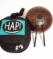 Hapi Drum MINI inkl. Tasche und Schlegel Handpan tankdrum Zungen/Schlitztrommel