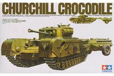 Tamiya 35100 Maquette 1/35 British Churchill Crocodile Tank