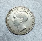YOUGOSLAVIE 20 DINARA PIERRE II 1938 en ARGENT - TB -