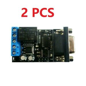 12V PC COM DB9 RS232 Serial Port Delay Relay ARM MCU UART Remote Control Switch