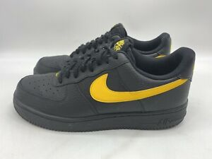 Nike Yellow Nike Air Force 1 Athletic