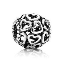 New Authentic Pandora 790964 Open Heart Charm Sterling Silver