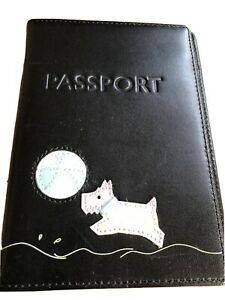 Unused Radley Black Passport Holder