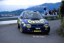 Colin McRae SUBARU IMPREZA 555 Winner Rally San Remo 1996 fotografia 2